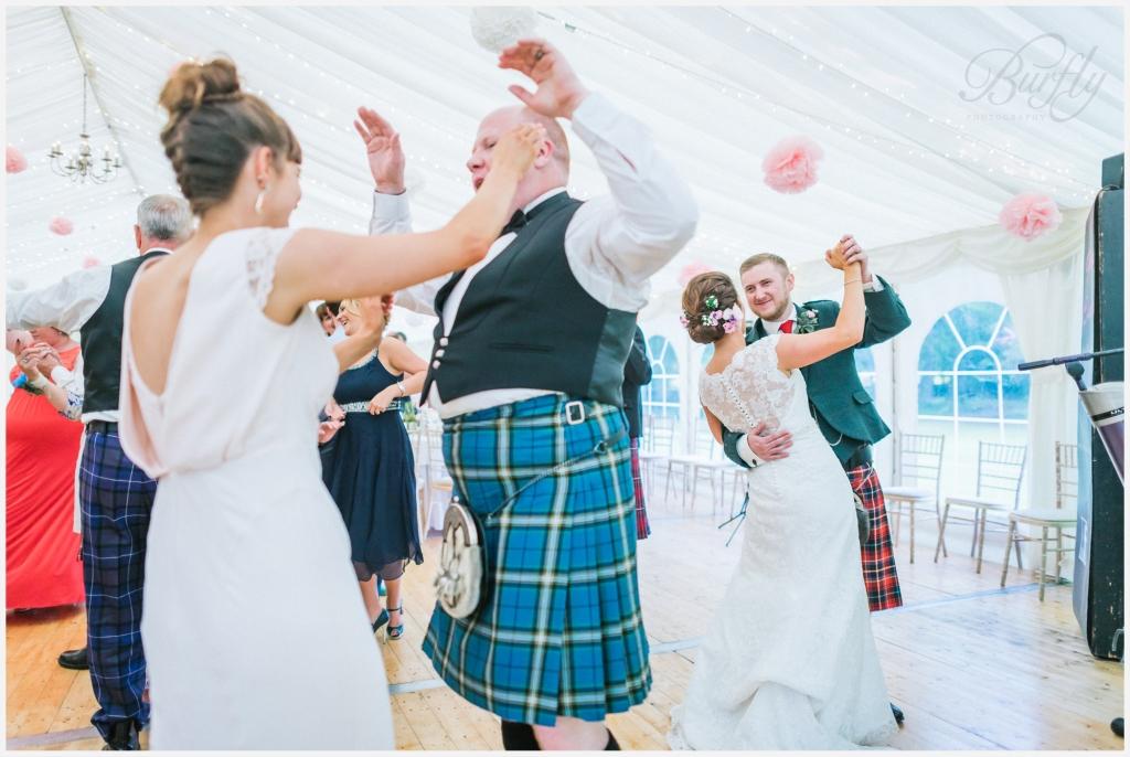 The Burn House Edzell Wedding 105