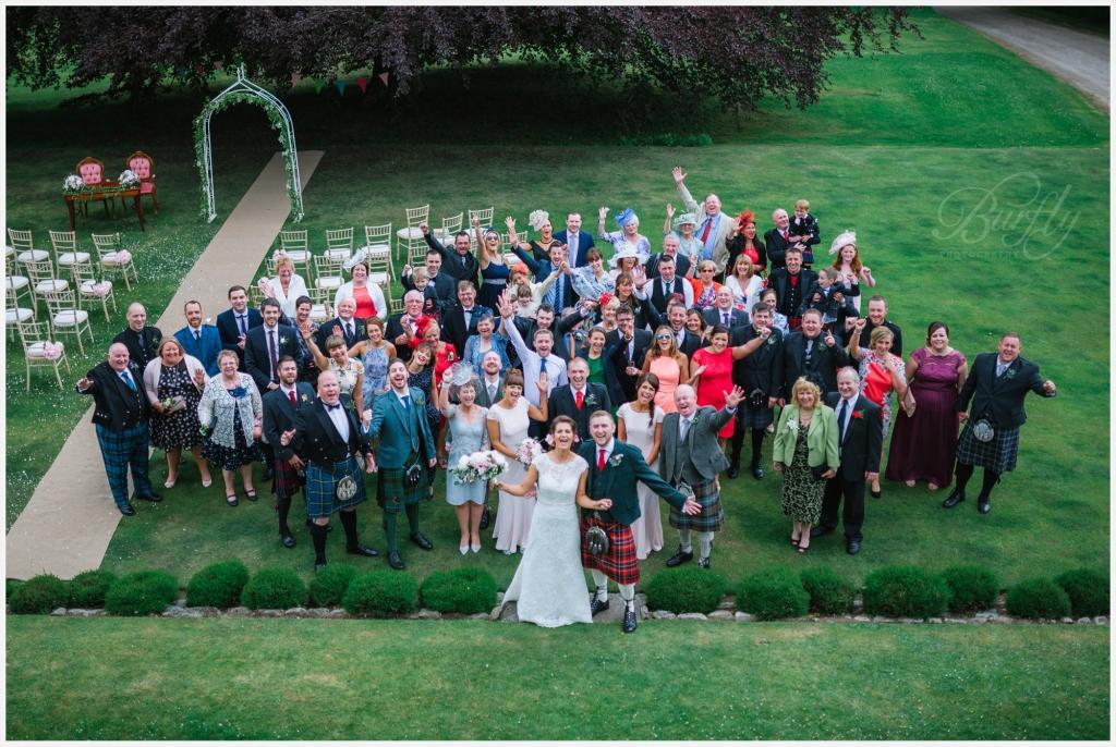 The Burn House Edzell Wedding 52