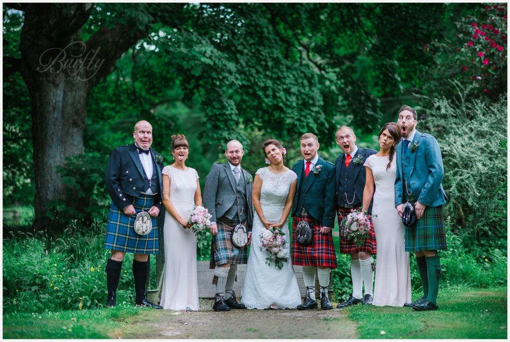 The Burn House Edzell Wedding 56