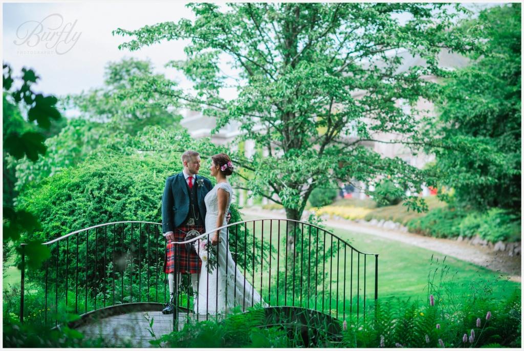 The Burn House Edzell Wedding 60