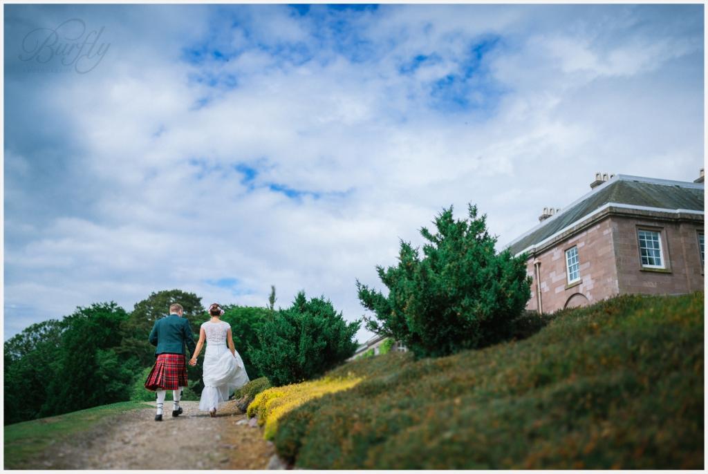 The Burn House Edzell Wedding 61