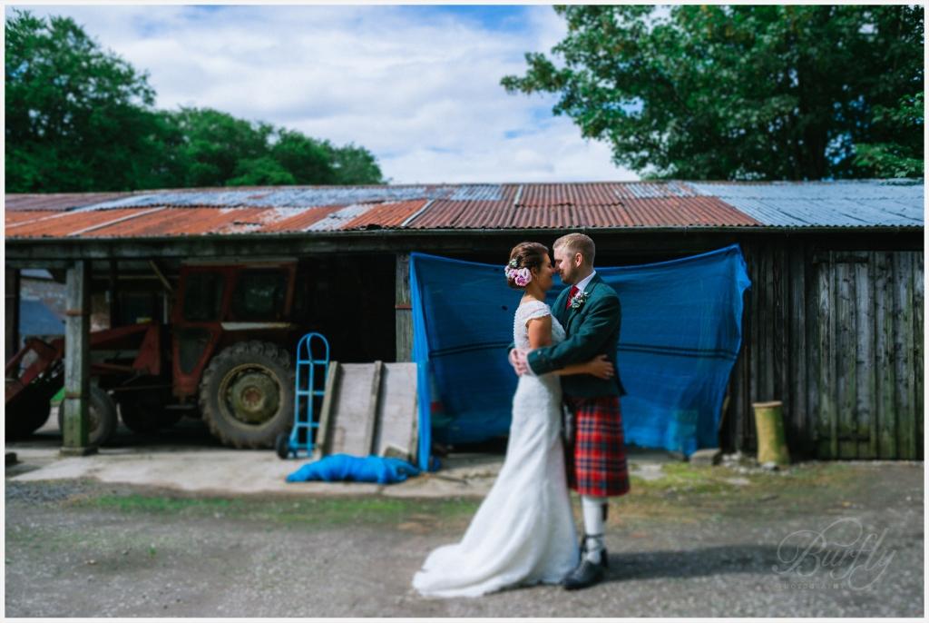 The Burn House Edzell Wedding 70