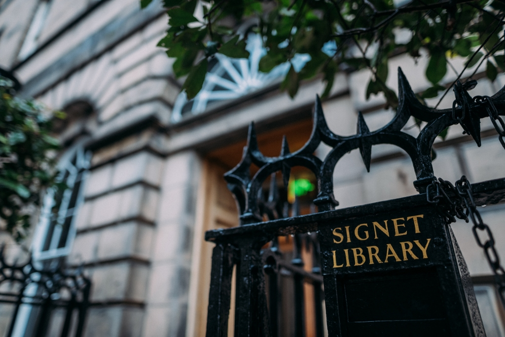 Signet Library Wedding Edinburgh 20