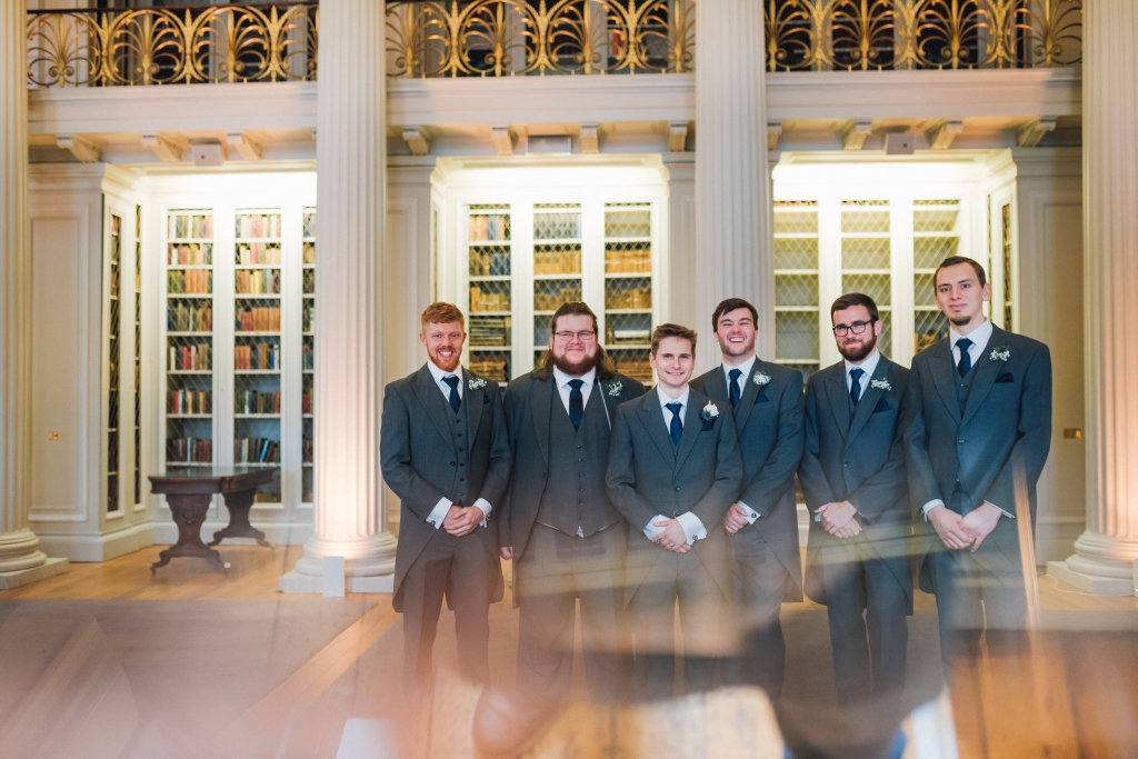 Signet Library Wedding Edinburgh 40