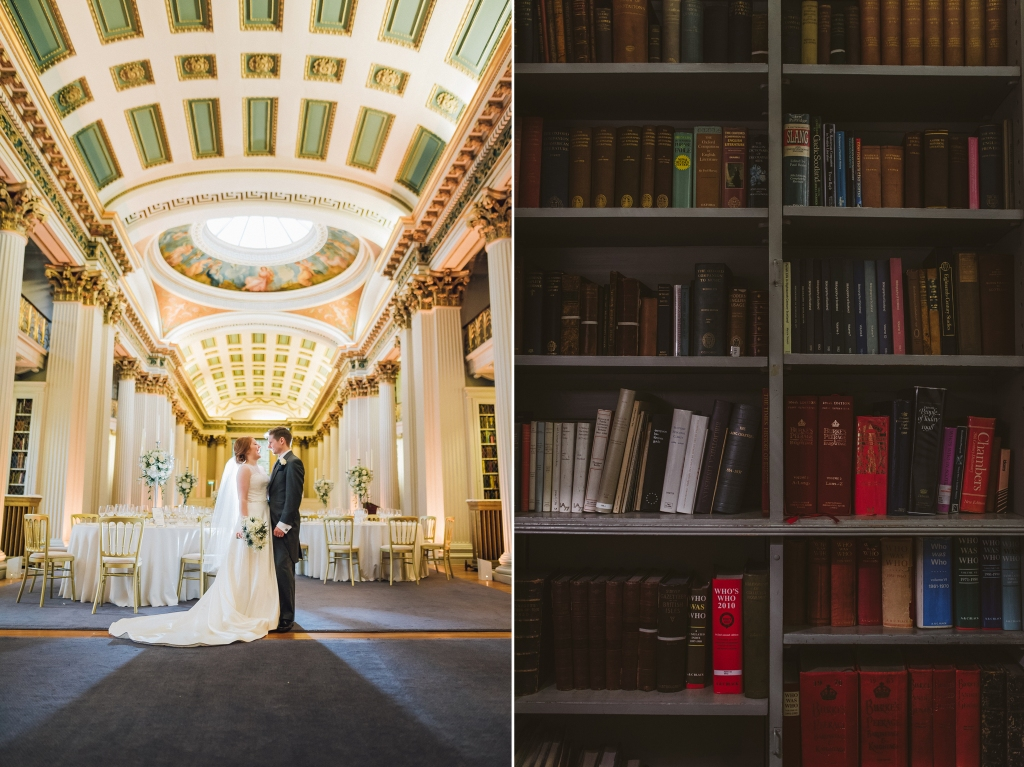 Signet Library Wedding Edinburgh 49