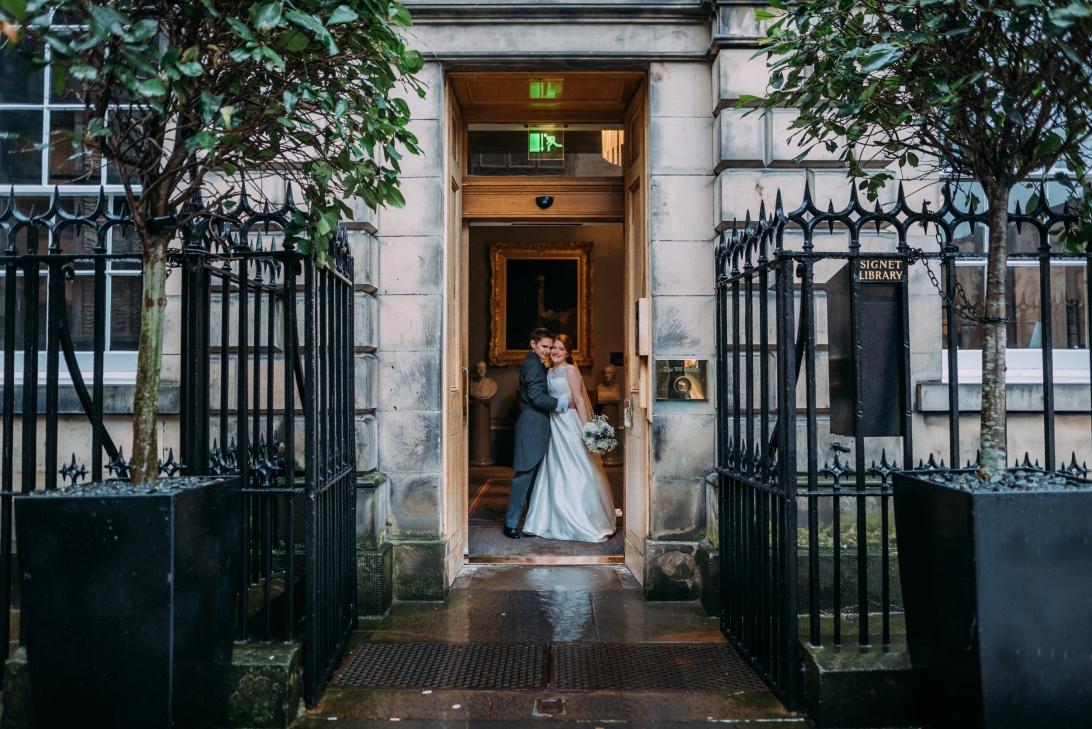 Signet Library Wedding Edinburgh 53