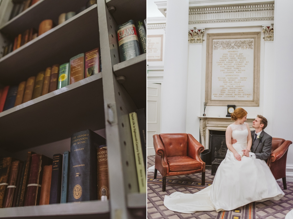 Signet Library Wedding Edinburgh 71